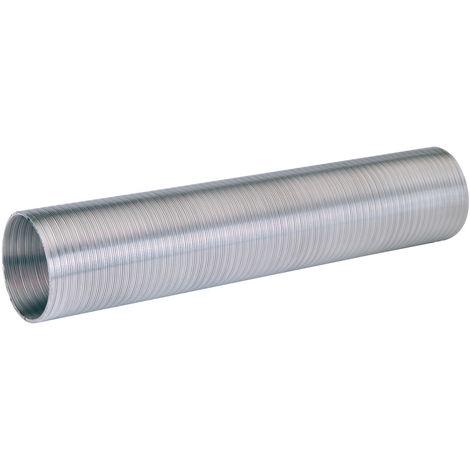 Gaine Nather flexible en aluminium récupérateur de chaleur 3 mètres - Ø 125 mm OU 160 mm