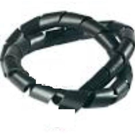 Gaine noir Range Cables et Fils  faisceau  de Ø 8 à 20 mm longueur 5 mètres