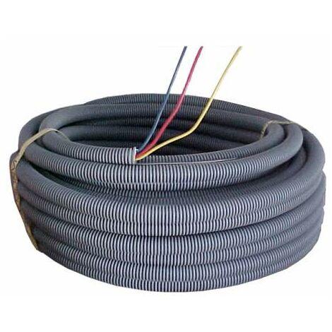 """main image of """"Gaine préfilée ICTA multi-conducteurs H07 VU - 3G2,5 mm² - Couronne de 100 m - Electraline"""""""