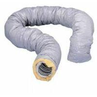 Gaine PVC isolée ECOSOFT - Diamètre 80mm - 549242 - Nather