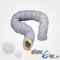 Gaine souple aluminium isolée