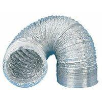 Gaine souple aluminium série GSA - Longueur 10 mètres - Diamètre 160mm