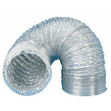 Gaine souple aluminium série GSA - Longueur 3 mètres - Diamètre 250mm