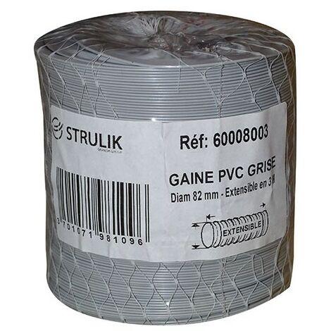 GAINE SOUPLE PVC FILET D. 80MM 3ML