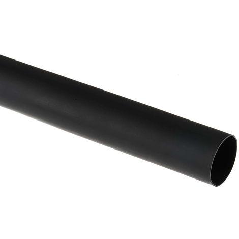 Gaine thermorétractable RS PRO, Dia. 40mm Noir rétreint 3:1, 1,2m