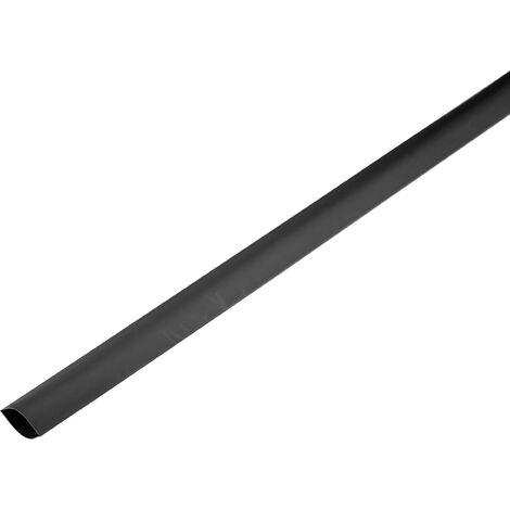 Gaine thermorétractable sans colle 2:1 TRU COMPONENTS 1225441 noir Ø intérieur nominal (avant réduction): 150 mm Marchandise vendue au mètre S493071