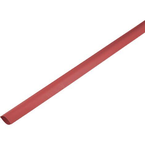 Gaine thermorétractable sans colle 2:1 TRU COMPONENTS 1225463 rouge Ø intérieur nominal (avant réduction): 150 mm Marchandise vendue au mètre S453751