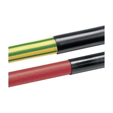 Gaine thermorétractable sans colle HellermannTyton TR27-6.4/3.2-PO-X-BK 315-50640 noir 6.40 mm Taux de retreint:2:1 1 m
