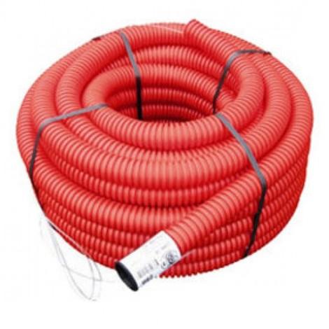 Gaine TPC 40 rouge - 50m - Catégorie Gaine TPC