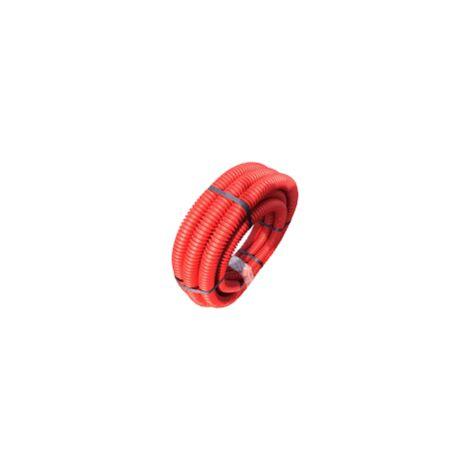 Gaine TPC - Diamètre 40 mm - 10 mètres - Rouge