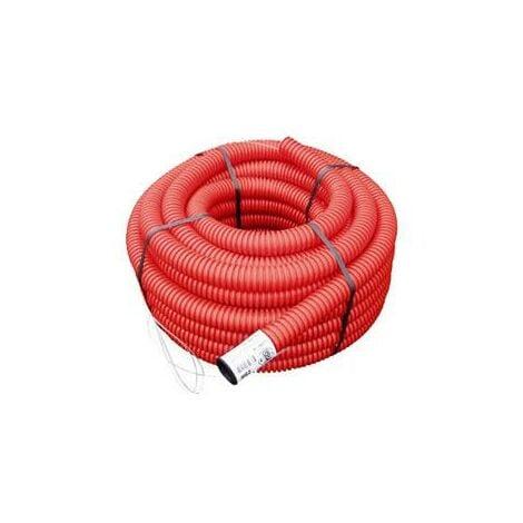 Gaine TPC rouge Ø 40 mm x 50 mètres