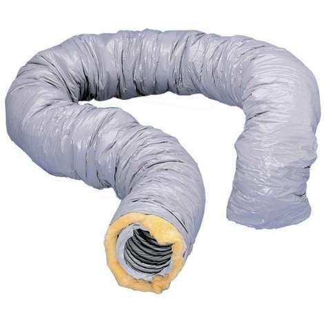 GAINE VMC SOUPLE PVC ISOLEE 25MM D150MM LONGUEUR 6M UNELVENT 813884
