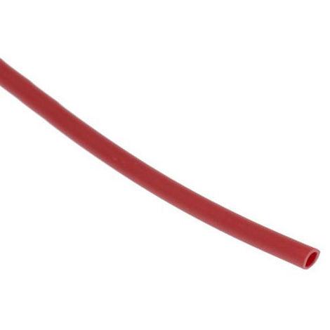 Gaines PVC Flexibles diamètre 5mm Rouge