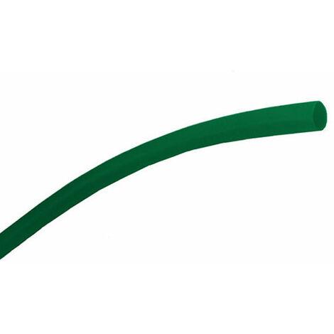 Gaines PVC vert Flexibles diamètre 6mm