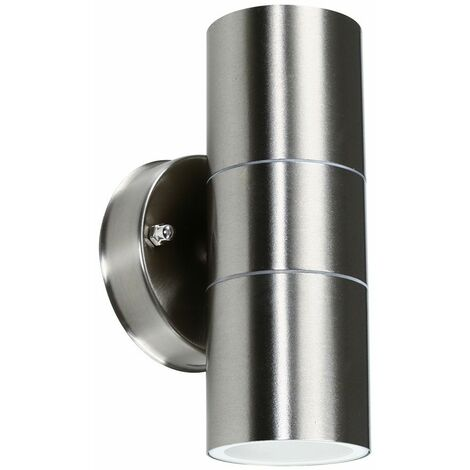 Gainsford GU10 Up Down IP44 Wall Light Copper