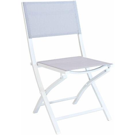 Sedie Da Giardino In Alluminio Pieghevoli.Gaja Sedia Da Giardino In Alluminio E Textilene Pieghevole Salvaspazio