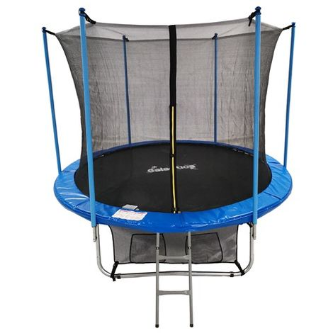 """main image of """"GALACTICA 8FT Round Trampoline Set GT-TS-01 Blue"""""""