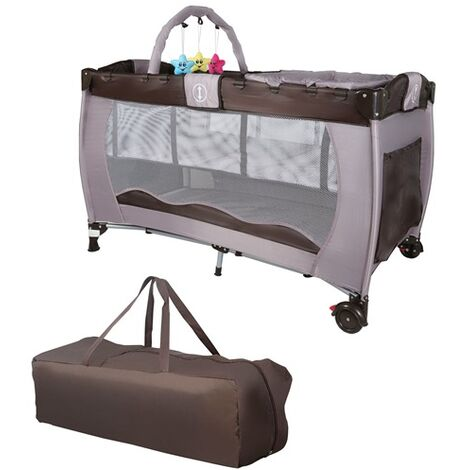 GALACTICA Baby Cot Bed BCB01 Coffee