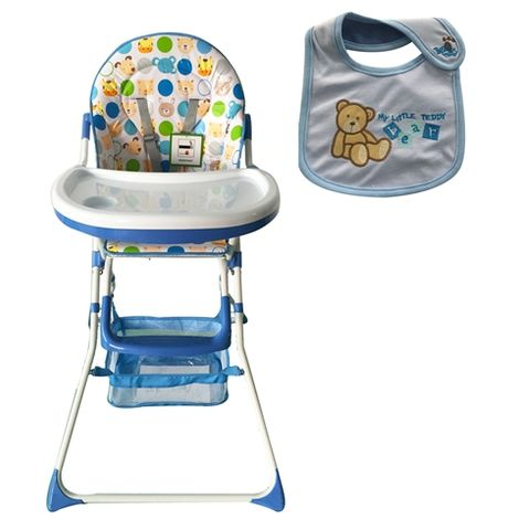 GALACTICA Baby High Chair Blue BHC02