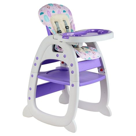 """main image of """"GALACTICA Baby Highchair 3in1 Purple"""""""