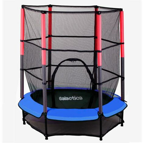 GALACTICA Trampoline Set 4.5FT Blue