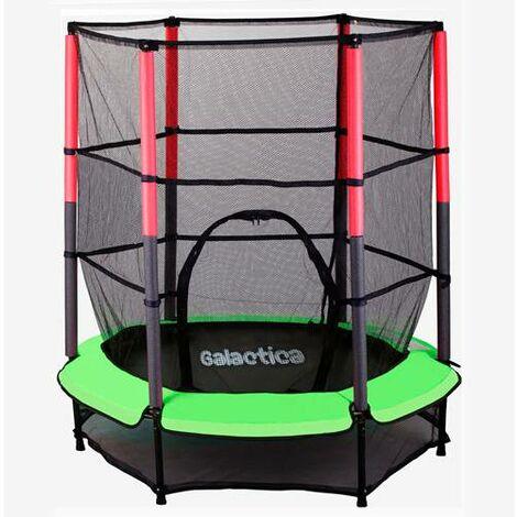 GALACTICA Trampoline Set 4.5FT Green