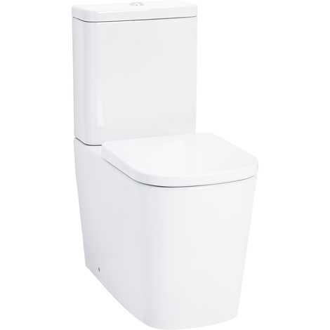 Galata Fully Back To Wall Close Couple Toilet with Soft Close Seat