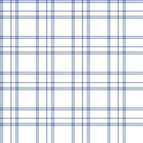 Galerie Blue white Check Wallpaper