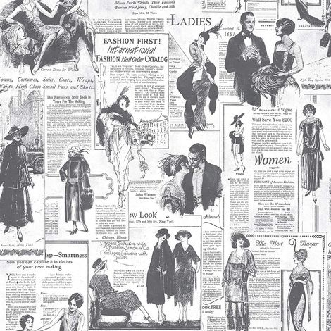 Galerie Newspaper Wallpaper