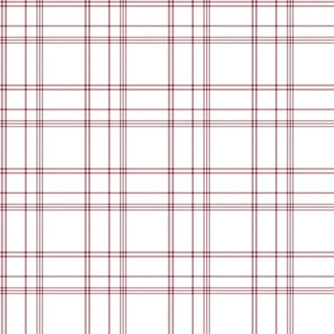 Galerie Red white Check Wallpaper