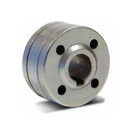 Galet de dévidoir acier type A diam 0.6/ 0.8 pour poste à souder MIG