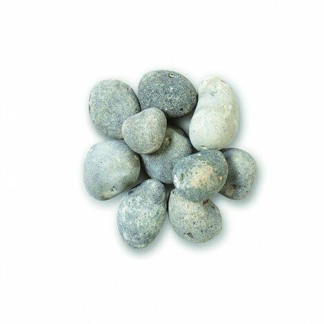 Galet gris bleu 40/60 mm - Sac 25 kg - Gris bleu - Gris bleu