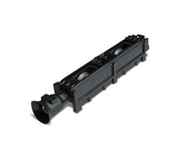 longueur: 0,5 m rail a roulettes galets rouleaux avec roulettes plastique /Ø 28 mm