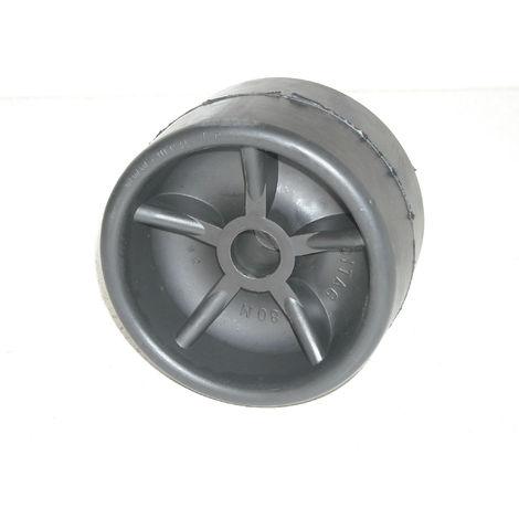 Galet noir 120x75 Alésage 17 mm