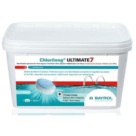 galets 2en1 chlore lent et rapide 4.8kg