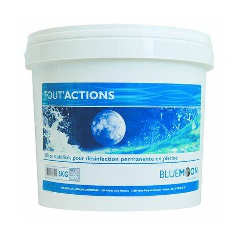 Galets de chlore multi-actions - Seau de 5kg