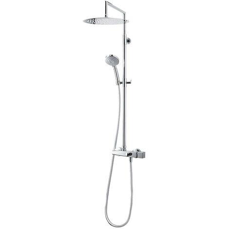 Galindo ALIA 57050500 Colonne mitigeur douche (laiton) avec ensemble de douche, finition chrome. - Chrome