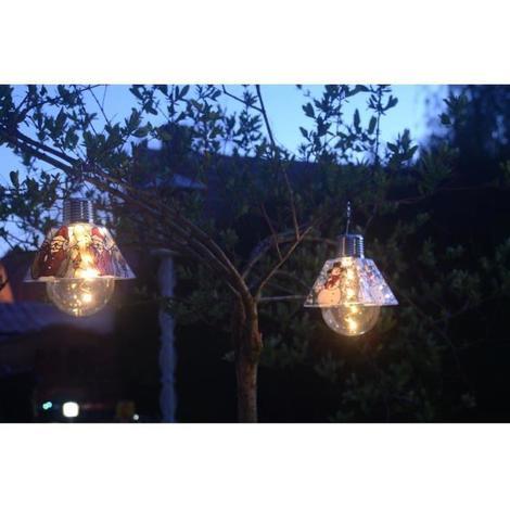 GALIX Ampoule solaire noël - Pere noël