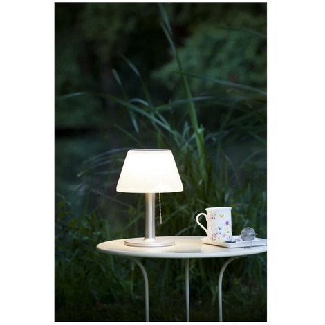 galix lampe de table solaire g2 tres clairante avec. Black Bedroom Furniture Sets. Home Design Ideas