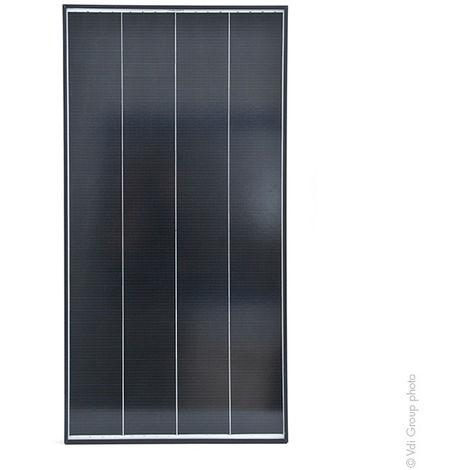 Galix - Panel solar rígido monocristalino de alta eficiencia de 100W-12V
