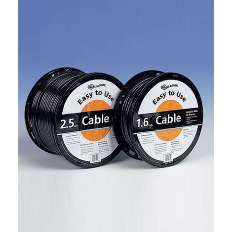 Gallagher professional double insulated cable for leak-free connections Gallagher