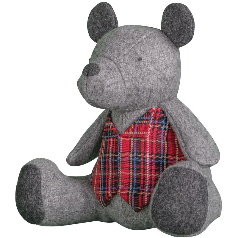 Image of Barnaby Bear Doorstop Weighted Door Stopper Filled Heavy Ornament - Gallery Direct