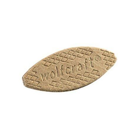 Set de 50 Piezas Wolfcraft 2921000 2921000-50 Galletas para uniones