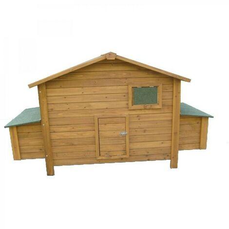 Gallinero de madera Berlin Maxi 191x89x110 cm