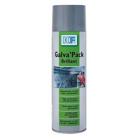Galva' Pack brillant galvanisation à froid 500ml KF Industrie