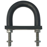 Galvanised Insulating Rubber Lined U-Bolts