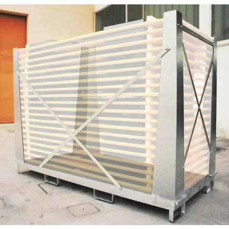 Galvanised Steel Storage Cage For Wooden Beer Table & Bench Sets