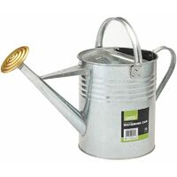 Galvanised Watering Can (9L) (53234)