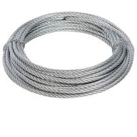 Galvanised Wire Rope - 4mm x 10m