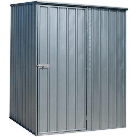 Galvanized Steel Shed 1.51 x 1.51 x 1.9m